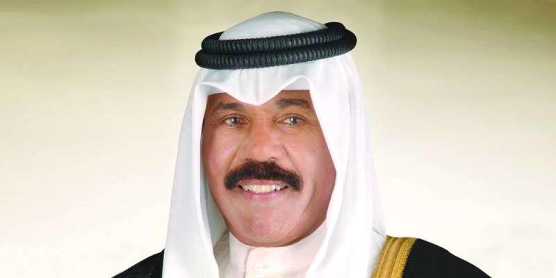 سمو الأمير  يستقبل الغانم والسعدون  والمحمد والمبارك والخالد في إطار مشاورات تشكيل الحكومة