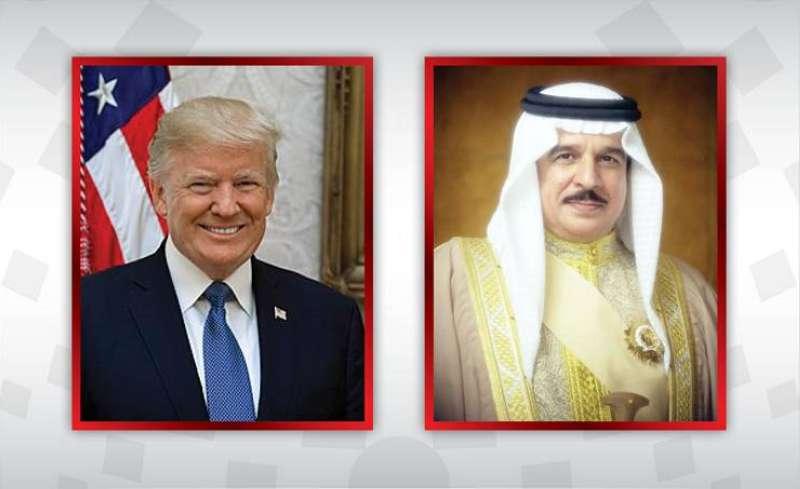 ترامب يمنح ملك البحرين وسام الاستحقاق بدرجة قائد أعلى ع