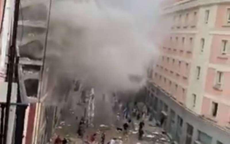 سماع دوي انفجار وتصاعد دخان في العاصمة الإسبانية مدريد