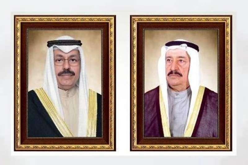 العلي والنواف يهنئان الخالد بتعيينه رئيسا لمجلس الوزراء
