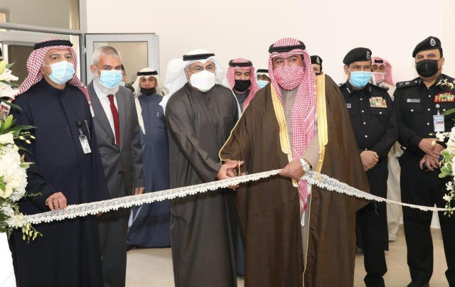 العلي والفارس افتتحا مركز خدمة المواطن للعاملين في القطاع النفطي