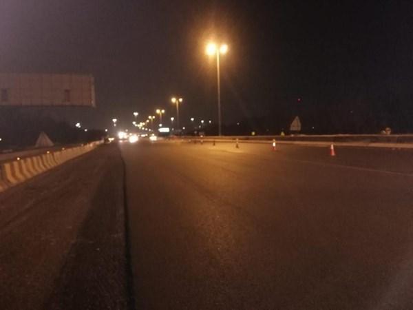 «هيئة الطرق»: الانتهاء من فرش 2 كيلومتر من الإسفلت في طريق 40 باتجاه الأحمدي بعرض 4 حارات