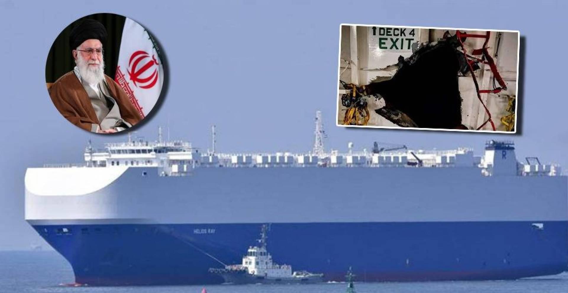 صحيفة إيرانية مملوكة لخامنئي تعترف: نحن من فجّر سفينة الشحن الصهيونية