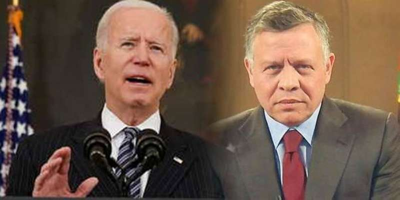 الرئيس الأميركي يعرب للعاهل الأردني عن تأييد واشنطن لإجراءات المملكة للحفاظ على أمنها