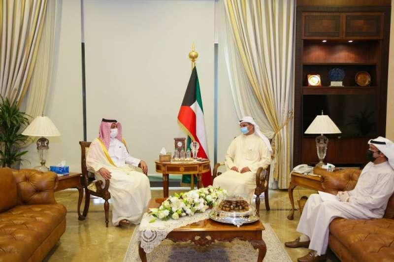 مجدي الظفيري بحث وسفير قطر تطورات الأوضاع على الساحتين الإقليمية والدولية