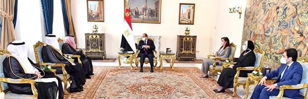 السيسي: أمن واستقرار السعودية جزء من الأمن القومي المصري