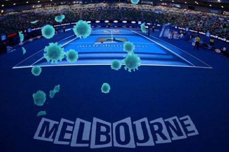 رصد 3 حالات كورونا على متن رحلتين إلى بطولة أستراليا للتنس ووضع 27 لاعبا في الحجر