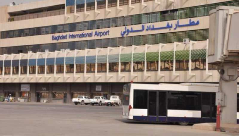 سقوط صاروخين على الأقل قرب مطار بغداد.. ولا ضحايا