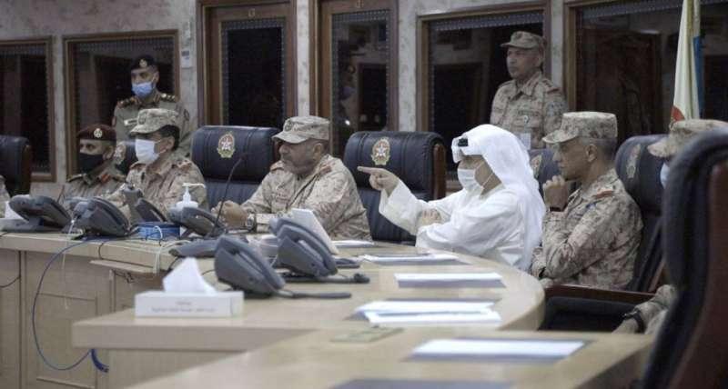 وزير الدفاع قام بزيارة تفقدية إلى هيئة العمليات والخطط