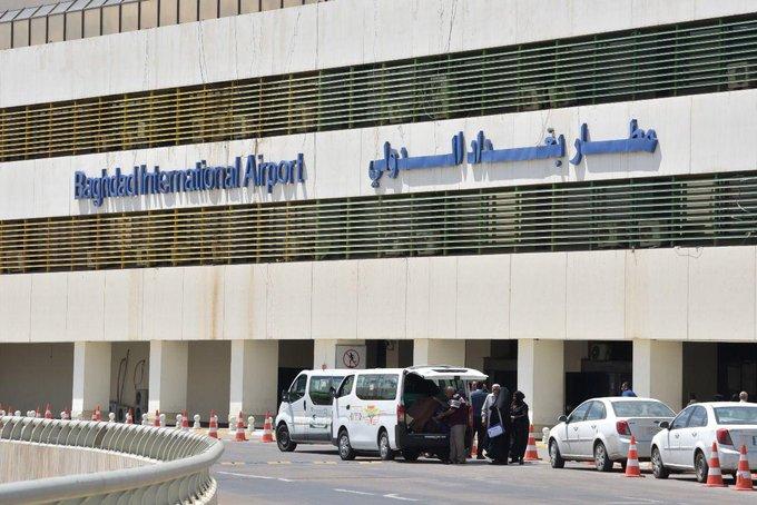 استهداف مطار بغداد بصاروخين في ثاني هجوم خلال ساعة