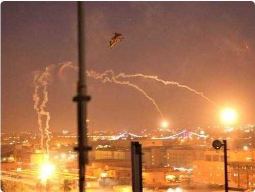 في ثاني هجوم خلال ساعة.. استهداف قاعدة فكتوريا في مطار بغداد