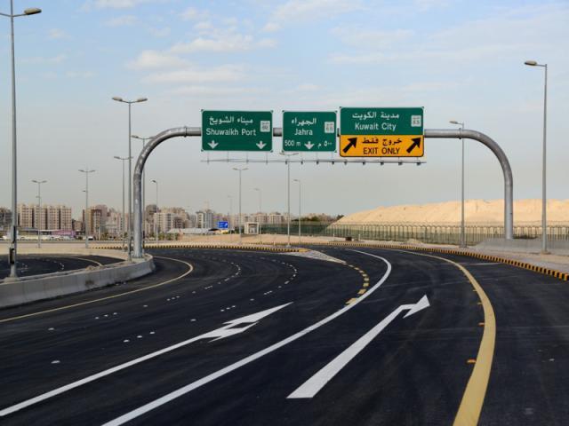 «الطرق» تفتتح «نفق الغزالي» للقادمين من عبدالله المبارك والمطار