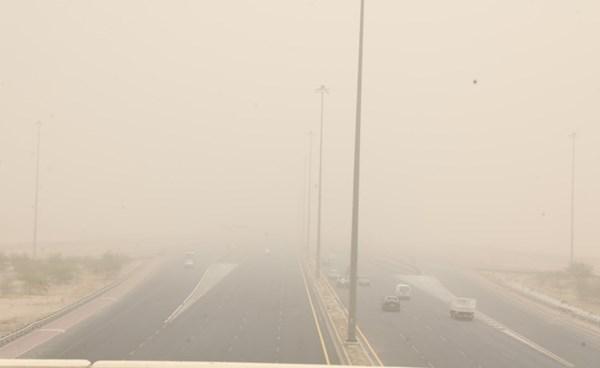 «الأرصاد»: الطقس حار جداً اليوم وغداً ورياح البوارح تثير الغبار نهاراً