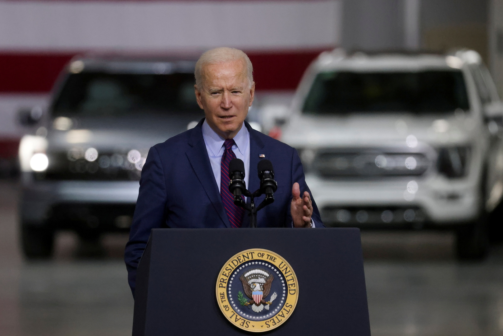 الرئيس الأمريكي: إيقاف «السيل الشمالي-2».. أمر مستحيل