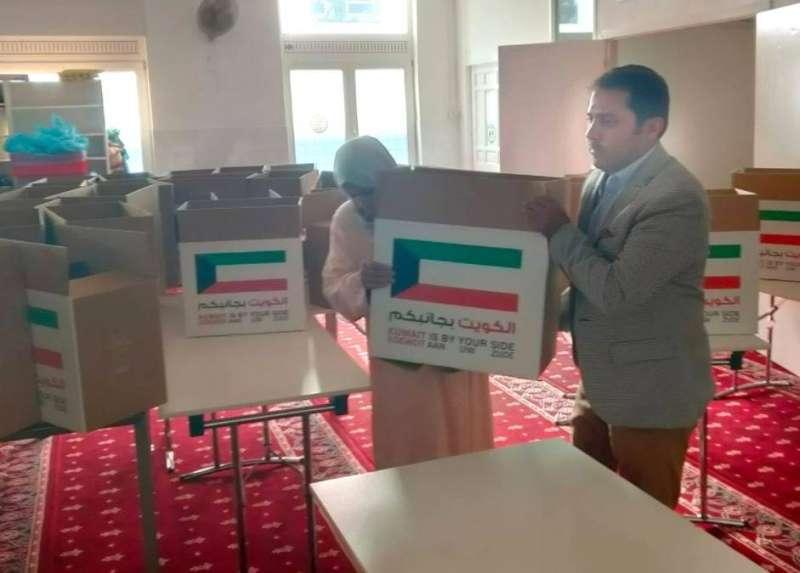 سفارة الكويت في هولندا توزع لحوم الأضاحي على 500 أسرة