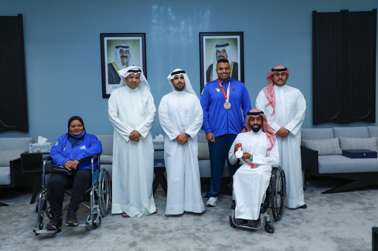 رئيس اللجنة الأولمبية الكويتية يشيد بإنجاز لاعبي الكويت بدورة الألعاب البارالمبية «طوكيو 2020»