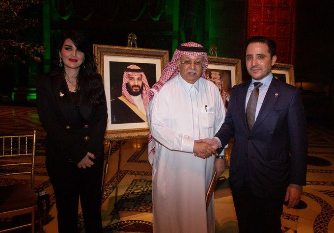وزير الخارجية يشارك في حفل استقبال اليوم الوطني الـ 91 للمملكة العربية السعودية الشقيقة والذي أقيم في نيويورك