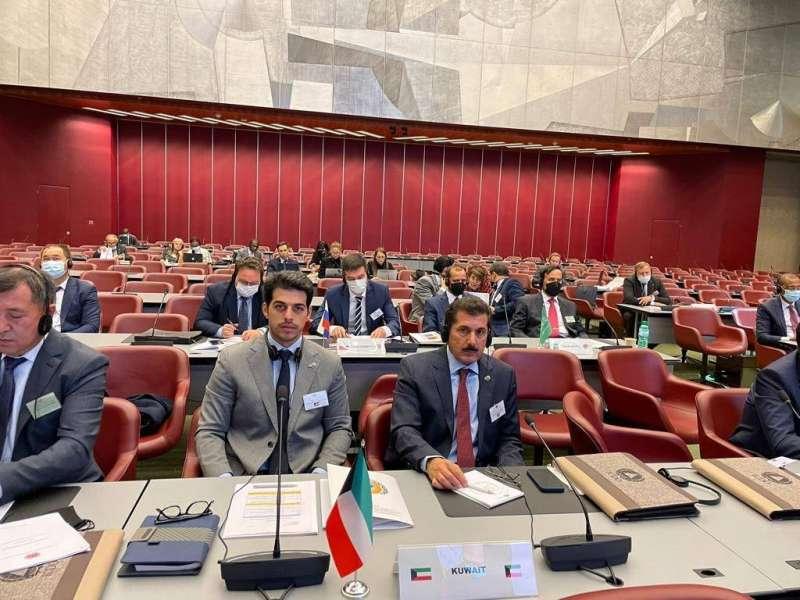 الفريق المكراد يشارك في اجتماع منظمة الحماية المدنية